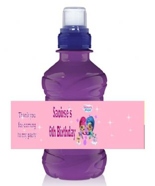 Shimmer and Shine Bottle Label Wrapper